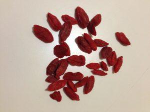 owoce jagód goji